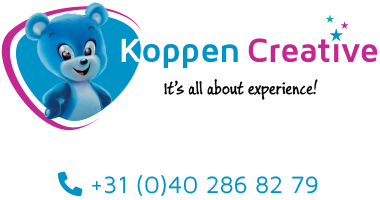 Koppen Creative logo it's all about experience!