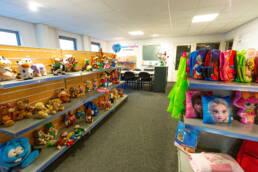Koppen Creative showroom, een goede plaats om af te spreken voor vrijblijvend advies over merchandise