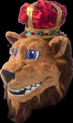 Kop leeuw mascotte - Design by Dian