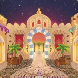 1001 Nights - Entrance gate - Design by Sanne