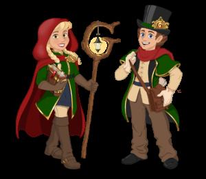 Character design voor Grimmburgh